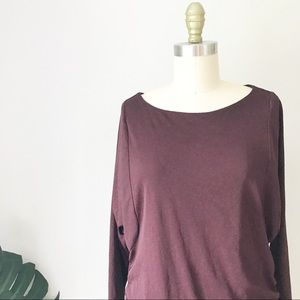 Coldwater Creek • Double Layer Side Ruched Top